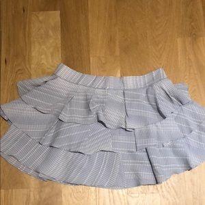 Derek Lam 10 Crosby ruffle mini skirt